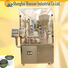 Rotary instant coffee filling sealing machine/coffee capsule filling sealing machine