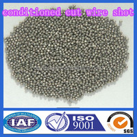 High Carbon Conditioned Steel Cut Wire Shot 1.5 For Shot Blasting And Peening