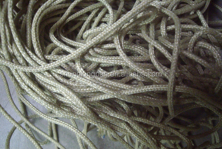 Fire resistant braided para aramid rope