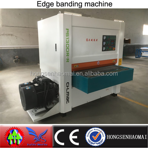 Heavy duty wide belt sanding machine/wide belt wood calibrating machine