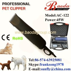 Powerful pet clipper,dog grooming supplier