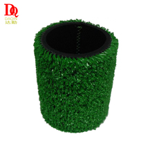 high quality reusable round single stubby holder grass can cooler with plastic brand logo
