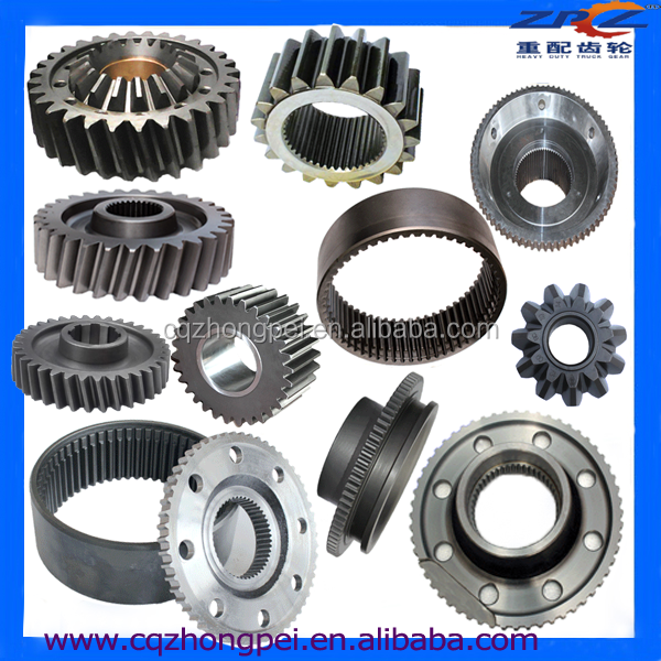 Various Gears And Axles From Manufacturer