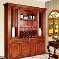 Household Wooden Wine Cabinets