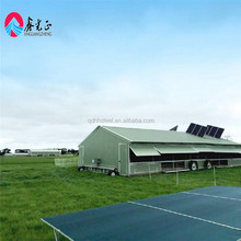 light steel structure poultry farm house design with low broiler death rate