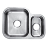kitchen sinks stainless steel with drainboard