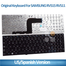 New and replacement for samsung laptop keyboard RV511 RV515 RV509 RV520 RV510 RC509 RC510 RC511 CNBA590 keyboard norebook