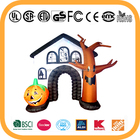 9ft Halloween inflatable haunted house Halloween outdoor inflatable decoration haunted house