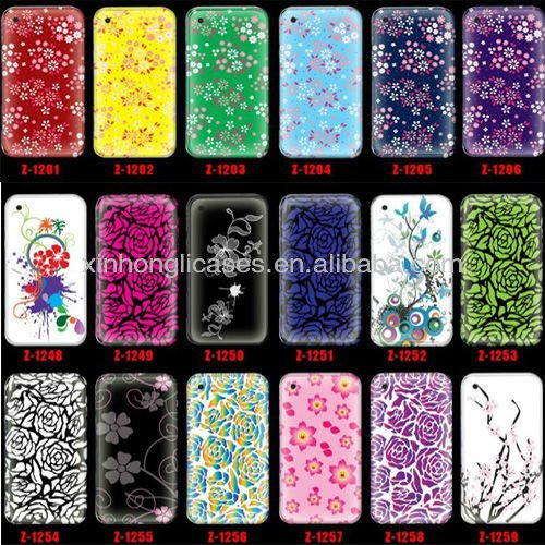 Flower Series Custom case for iphone4 , for iphone4s custom phone case
