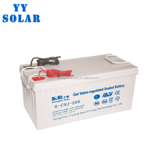 Maintenance free 12v 180ah sealed lead acid solar battery
