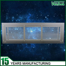 air conditioning detachable aluminum air grille anodized floor air return grill