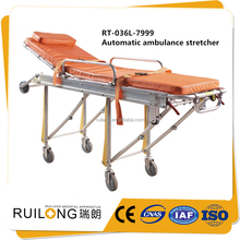 Durable ambulance stretcher for mri emergency