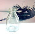 16oz fresh milk glass bottle