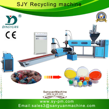 SJY-110 Sanyuan Brand Double-stage waste plastic recycling machine in india