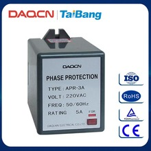 DAQCN APR-3A Electronic Motor Protection Relay Device Protected Relay