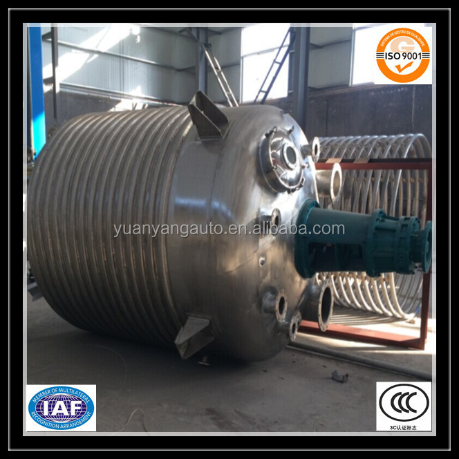 Yuanyang Machinery stainless steel Chemical Resion Reactor