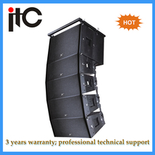 ITC LA-2650P professional active powered line array speaker for outdoor stage