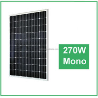High efficiency and Good Quality solar panel 270W mono PV for solar power systems