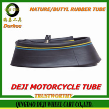 2016 New China DEJI/Durkee/OEM brand factory price of various size motorcycle inner tubes manufacturer in China