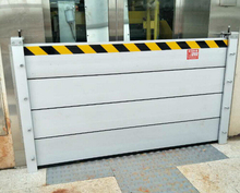 Aluminum Water defence barrier for water stop