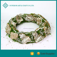 hotsales rattan wreath willow wreath christmas decoration