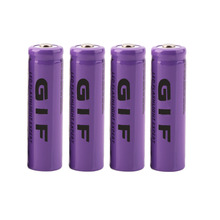 New 4 pcs/set 14500 battery 3.7V 2300mAh rechargeable liion battery for Led flashlight batery litio battery Wholesale