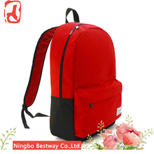 China Supplier Wholesale Customized Design Backpack Type 600D Polyester Child School Bag