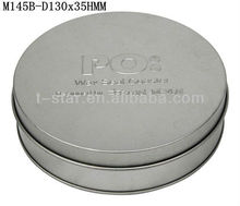 metal tin cd case/ dvd tin holder wholesale
