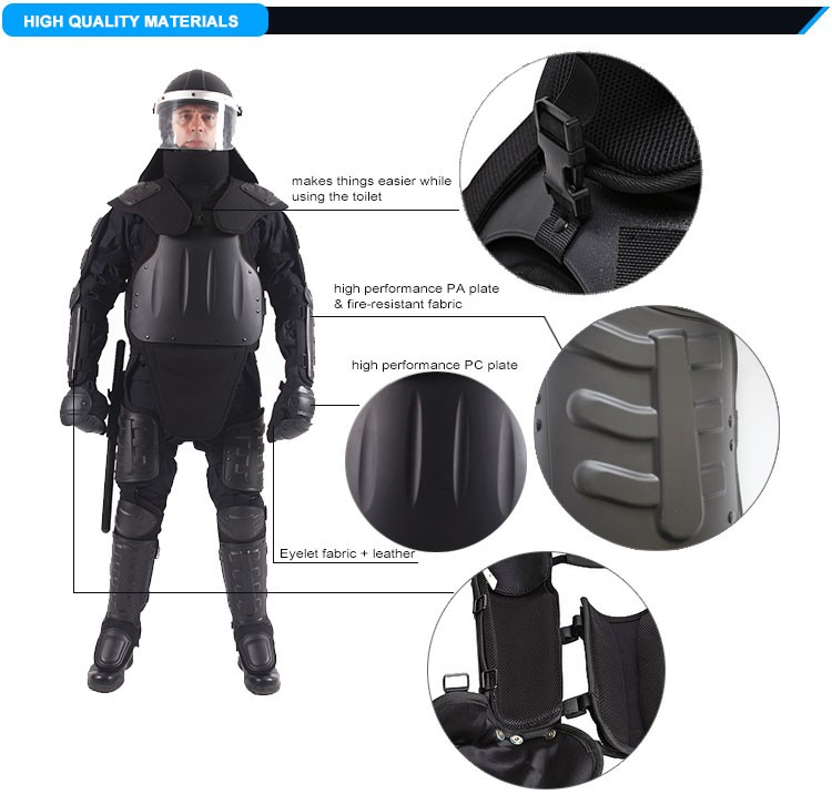 body armor gear,Riot Full Body Protective Suit for army