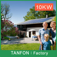 Commercial and industrial 1kw to 50kw off grid three phase solar power system with high efficiency solar panel