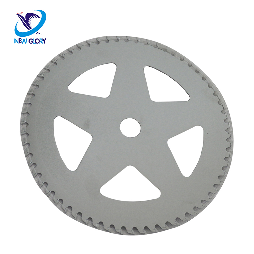 brush cutter spare parts 60 teeth round saw blade