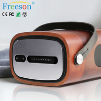 Hot sell fashion designed wood bluetooth speaker high-end wireless