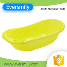 Plastic freestanding standing kids baby spa bathtub with good price