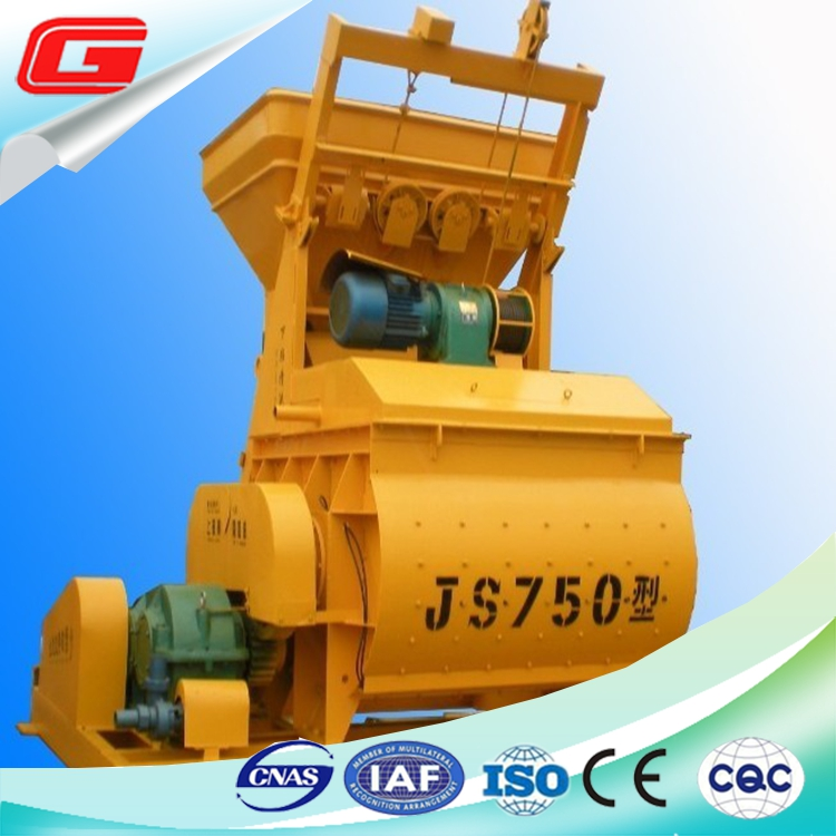 gasoline portable forced concrete mixer electric from china