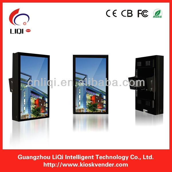 Exquisite 55inch High Quality LED Touch Screen Display Kiosk For Exhibision