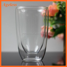 Factory production Sell Double wall Glass cup