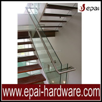 Luxury Stainless Steel Glass Railing For