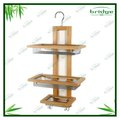 Eco-Friendly bamboo wooden shower caddy