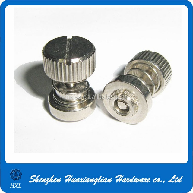 Pem stainless steel assembly fastener captive m3 m4 m5 spring loaded screw