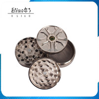 Nice 4 Layers Metal Tobacco Crusher Hand Muller Smoke Herb Grinder