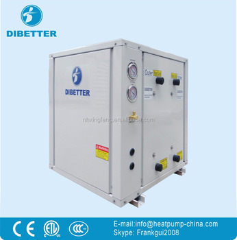 China Stainless Steel Ground Source Heat Pump Geothermal Water Heater for Heating-Cooling