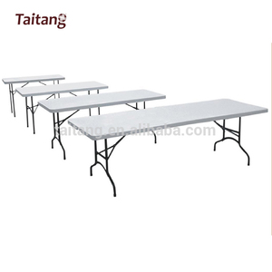 wholesale rectangle hotel furniture restaurant plastic folding study table and chair