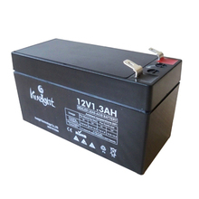 Mini 12V 1.3AH sealed lead acid battery for kids toys