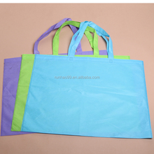 Promotional Cheap Custom Logo Print Large Non Woven Eco Friendly Reusable Shopping Bags