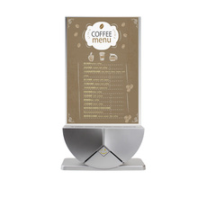 coffee shop restaurant menu power bank portable