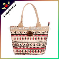 Wholesale cotton canvas tote bag,new design printed canvas tote bag