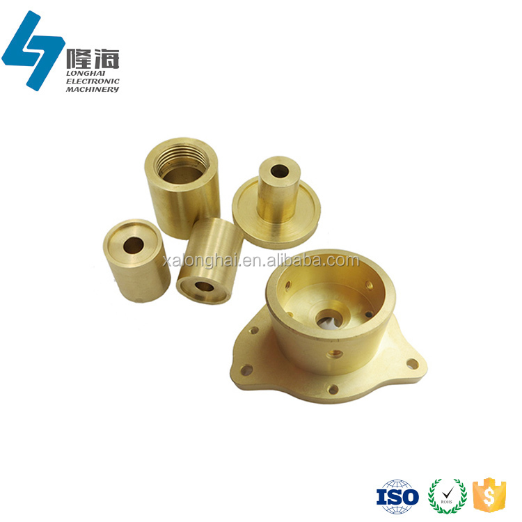 Custom dependable performance high precision cnc machining micro copper bushing