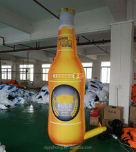 3m advertising inflatable beer bottle model