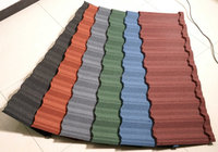 supply Colorful Stone Coated Metal Roof Tile/Galvanized Steel Metal Roof Tile/Nigeria Roof Tile