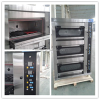 Oil and Gas Deck Oven Price Of Bakery Machinery
